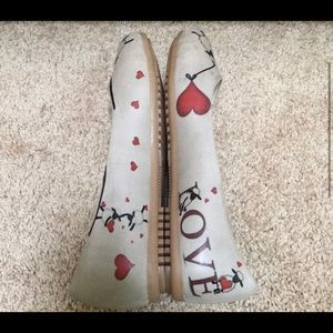 New! Adorable Sheep Flat Shoes